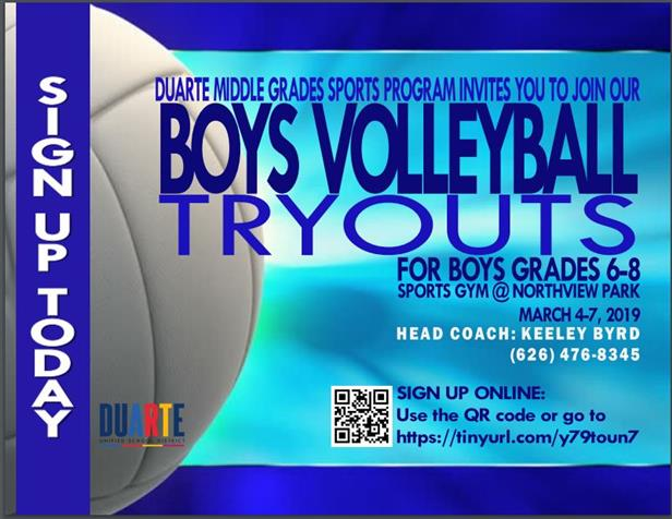 Boy's Volleyball