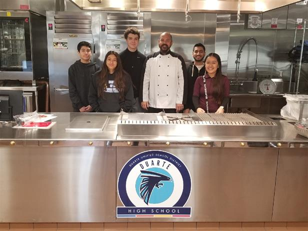 Cutting-Edge Culinary Arts Complex Constructed at Duarte High School to House NAF Approved Culinary Academy