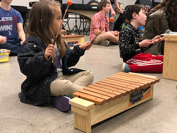 Dragon Kim Foundation, CSArts & DUSD Partner to Provide Elementary Music Program