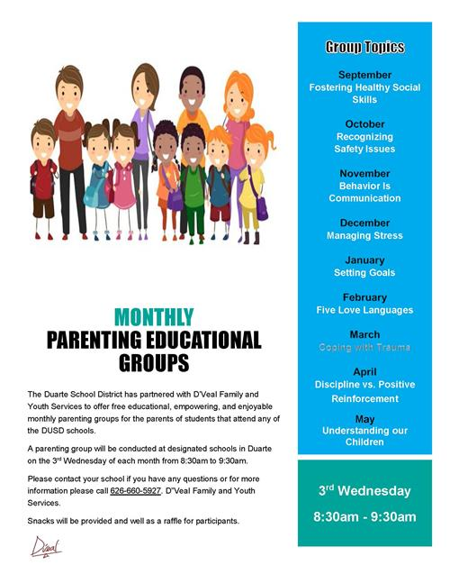 Monthly Parenting Education