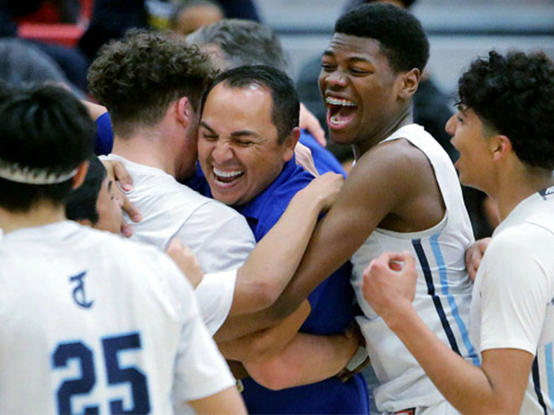 DHS Boys Basketball Team Wins CIF Division 5A Championship