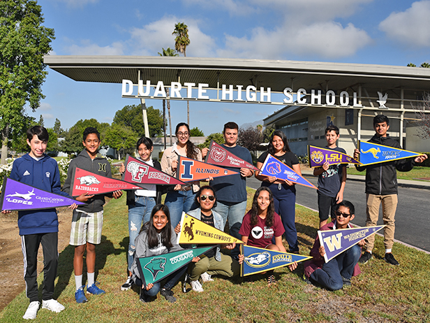 Duarte High School Pioneers Yet Another Early College Pathway!