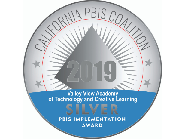 Valley View Awarded the Silver Medal for PBIS Implementation